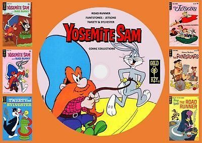 Yosemite Sam - Road Runner - Tweety & More Gold Key Comics On DVD Rom