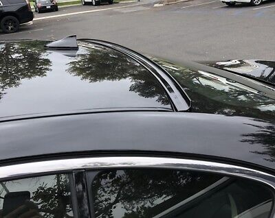 PAINTED FOR ACURA TSXCURear Window Roof SpoilerBlack - Acura tsx spoiler