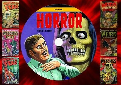 Pre-Code Horror Comic Collection On DVD Rom