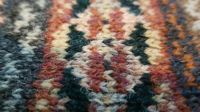 Fair isle knitting Knitted Sample Pieces perfect for craft projects.