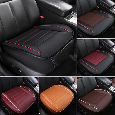 PU Leather Deluxe Car Cover Seat Protector Cushion Full Surround Front Cover