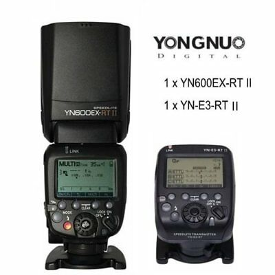 Yongnuo YN600EX-RT II Speedlite Flash Kit / YN-E3-RT II Transmitter for Canon