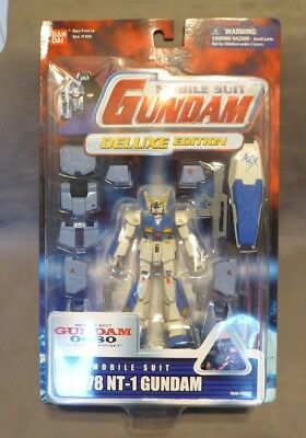 Bandai Mobile Suit Gundam 0080 Deluxe Edition RX-78 NT-1 Action Figure