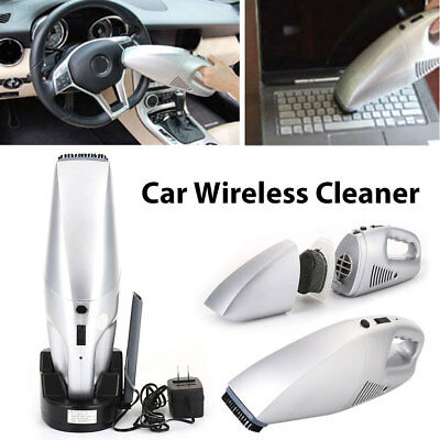 9EC0 60W Car Cordless Cleaner Rechargeable 3.6V Dust Collector 220V Pet Hair