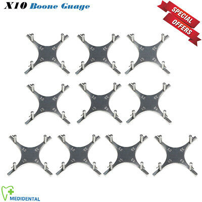 10 Pcs Orthodontic Boone Star-like Gauge Bracket Positioning Accurate Placements