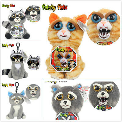 Feisty Pets Plüsch Tiere Expression Stuffed Scary Face Animal Toy Weinachten Nue
