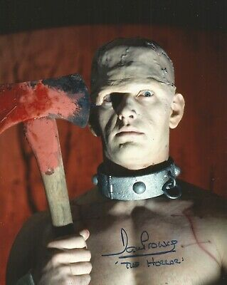Dave Prowse is the Horror hand signed photo UACC AFTAL Reg Dealer life COA