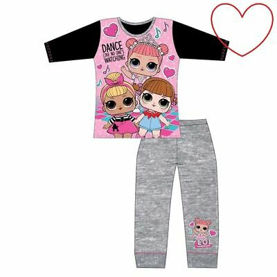Girls LOL Doll Surprise Character Pjs Set Kids Nightwear Pajamas Gift