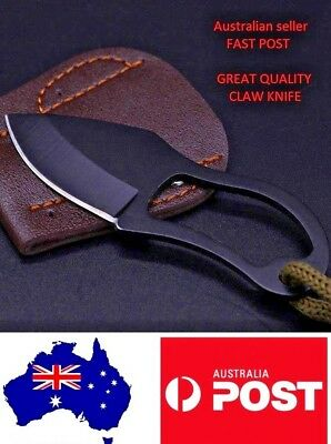 AU EDC Tools MC Knife Outdoor Survival Mini Claw Knife Hunting Tactical Karambit