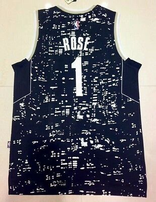 Chicago Bulls NBA Jersey - Rose #1 black special addition kid adult AU STOCK