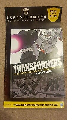 Transformers The Definitive G1 Collection Hachette Partworks Issue 1
