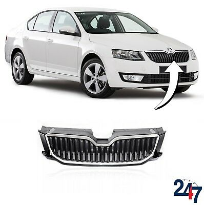 New Skoda Octavia 2013 - 2017 Front Center Upper Radiator Grill 5E0853651