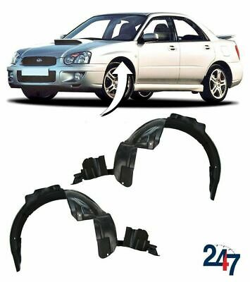 New Subaru Impreza 2003 - 2005 Sedan Wheel Arch Inner Cover Trim Pair Set 2 Pcs