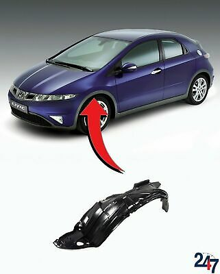 New Honda Civic Hachback 06-11 Front Wheel Arch Trim Cover Plastic Left N/s