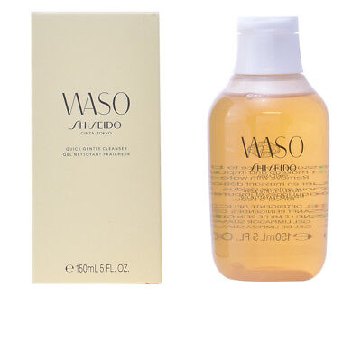 Cosmética Shiseido mujer WASO quick gentle cleanser 150 ml