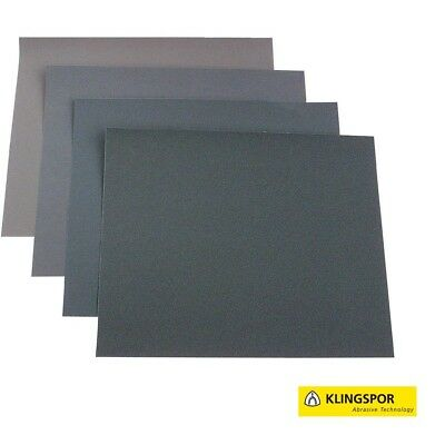 KLINGSPOR Wet And Dry Sand Paper Sanding Sandpaper Mixed You Choose 60-2500 GRIT