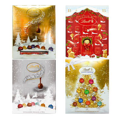 Lindt Lindor Advent Calendar Chocolate Collection Selection Christmas Gift Pack