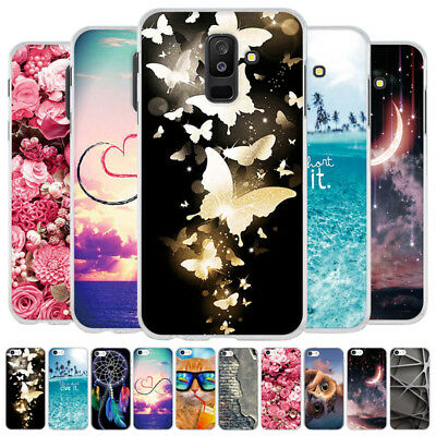 For Samsung A9s/A6s/A9 2018/A7 2018 Ultra Thin Rubber Silicone TPU Case Cover