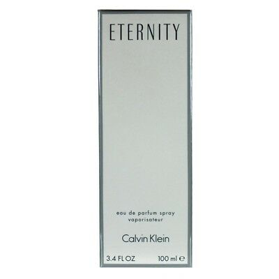 CALVIN KLEIN ETERNITY WOMAN WOMEN FEMME 100 ml EdP Spray NEU OVP