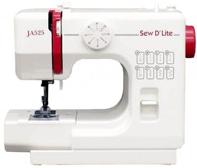 JANOME Compact Electric Sewing Machine Sew D `Lite JA525 AC100V Fast Shipping