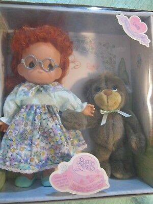 NIB 1998 Precious Moments My Beary Best Friend Doll Lucy Bear FREE SHIPPING
