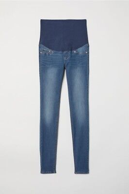 566875c228ee4 H&M MAMA Super Skinny Maternity Jeans HARDLY USED Size 14 (see description)