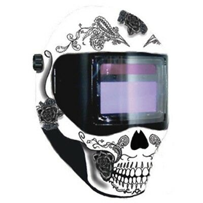 Save Phace RFP Welding Helmet E Series 40sq inch lens 4 Sensor - Day of the Dead