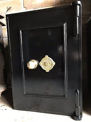🗝🇬🇧Antique Vintage Industrial Victorian Super Rare Cotterill Safe Can Deliver