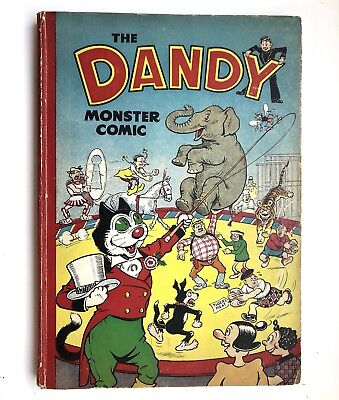The Dandy Monster Comic 1951 Fine Condition Classic Annual Book
