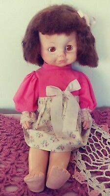 Vintage eegee baby doll 1970's 15 inch