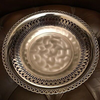 Vintage, Silver Plated Candy Tray, By 'wmf' 'ikora Germany' Brushed Finish