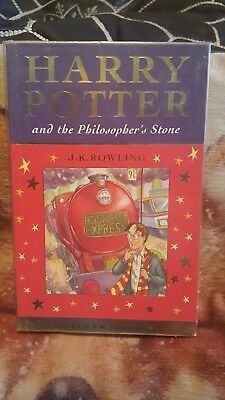Harry Potter And The Philosopher's Stone 1st Edition Paperback Book