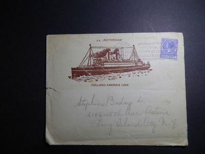Holland America Line SS Rotterdam 1929 Ships Letter