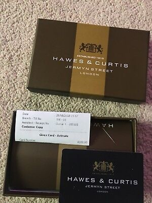 hawes and curtis Gift Voucher £100