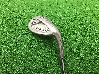 NICE Tommy Armour 855s SILVER SCOT W4 60* LOB WEDGE Right RH Steel REGULAR Used