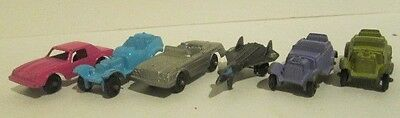 Lot of 6 Metal VINTAGE TootsieToy  Tootsie Toy Cars / Truck Great condition