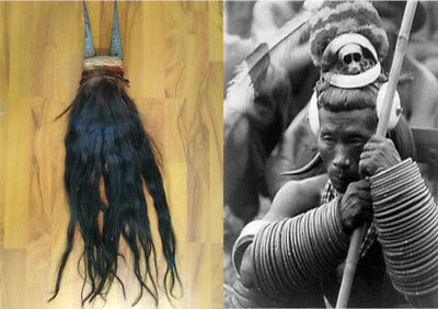 Naga Warrior Headhunter's Hip Ornament.....circa 1890's....FREAKY!!!