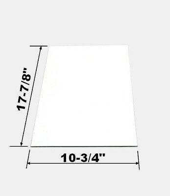 Replacement Side Glass Panel For Medium Great Northern Popcorn Machine, See List