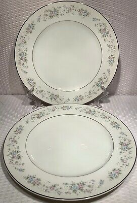Carlion China Corsage #481 10 3/4 Dinner Plate. Excellent Condition!!