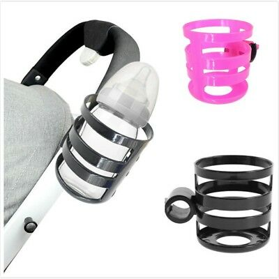 Portable Quick-Release Baby Stroller Cup Holder Pram Bicycle Milk Bottle Rack CG
