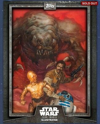 Topps Star Wars Card Trader Illustrated CTI Grey - As Pictured
