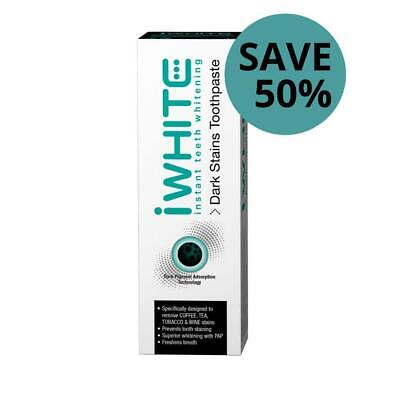 iWhite Dark Stains Toothpaste 75mL - With Activated Charcoal