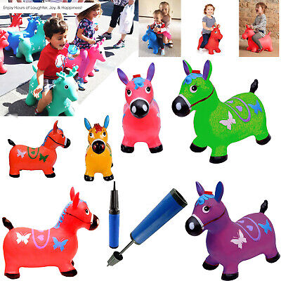 Horse Hopper - (Inflatable Space Hopper, Jumping Horse, Ride-on Bouncy Animal)
