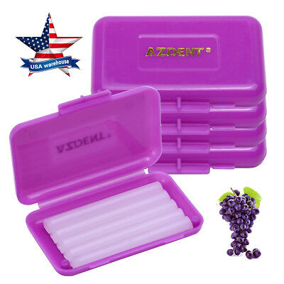 200X AZDENT Dental Orthodontic Wax for Bracket Gum Irritation Grape Scent