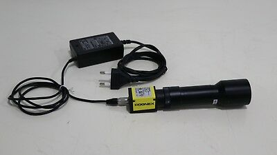 cognex cam-cic-5000r-14-g with extender lens and 12v Adapter #1