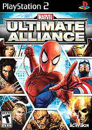 Marvel: Ultimate Alliance Special Edition (PlayStation 2 PS2) - DISC ONLY