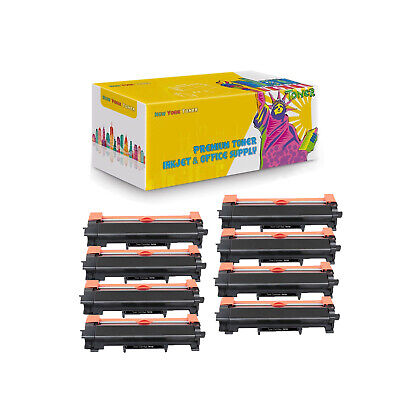 8-PK Compatible TN730 Toner NO Chip for Brother DCP-L2550DW HL-L2350DW