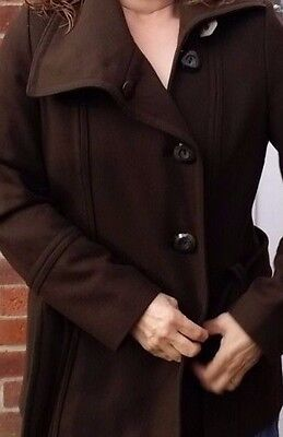 Reduced To Clear,Great Condition Ladies Vintage Brown Jacket .