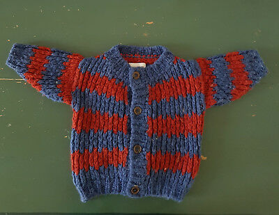 BOBO CHOSES Strickjacke Cardigan kult grobstrick Gr. 6-12mon 80-86