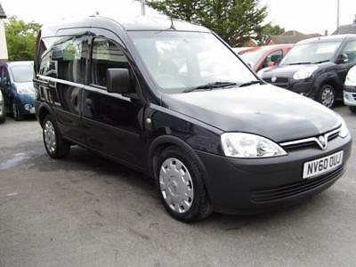 Vauxhall Combo auto automatic diesel wav wheelchair access accessible disabled